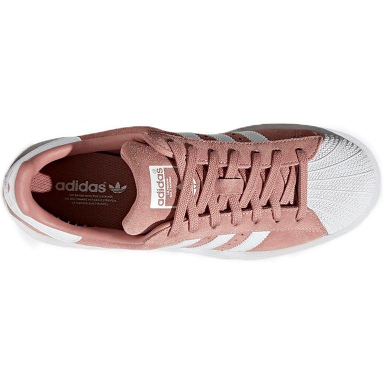 130bb91e35 Tenis Adidas Superstar Bold W Pink White - galleryrock