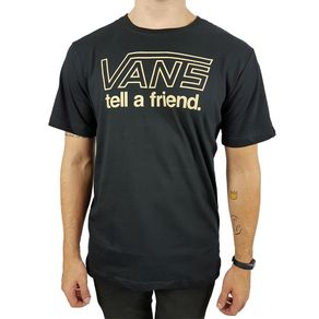 Camiseta-Vans-Tell-A-Friend-Preta-