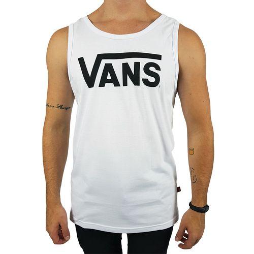 Camiseta-Regata-Vans-Classic-Branca-