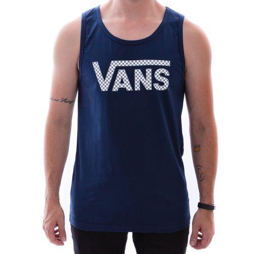 Camiseta-Regata-Vans-Classic-Quadriculado-Marinho