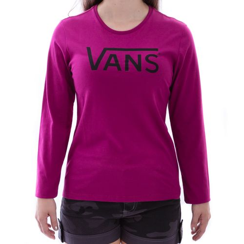 Camiseta-Vans-Manga-Longa-Classic-Rosa