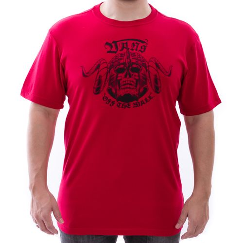 Camiseta-Vans-Caveira-Vermelha