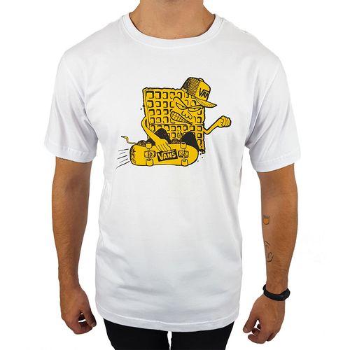 Camiseta-Vans-Waffle-Branca