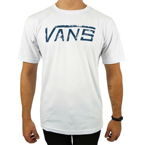 Camiseta-Vans-Classic-Azul-Branca-