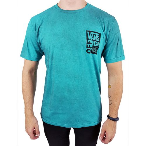 Camiseta-Vans-Off-The-Wall-Verde