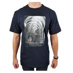 Camiseta-Vans-Rail-Line-Preta-