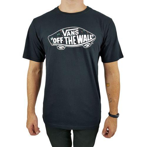 Camiseta-Vans-OTW-Flores-Preta-
