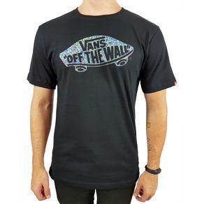 Camiseta-Vans-OTW-Floral-Preta-