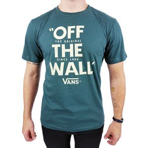 Camiseta-Vans-Off-The-Wall-Verde-Escuro-