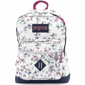 Mochila-Jansport-City-Scout-Multi-White-Floral-Haze