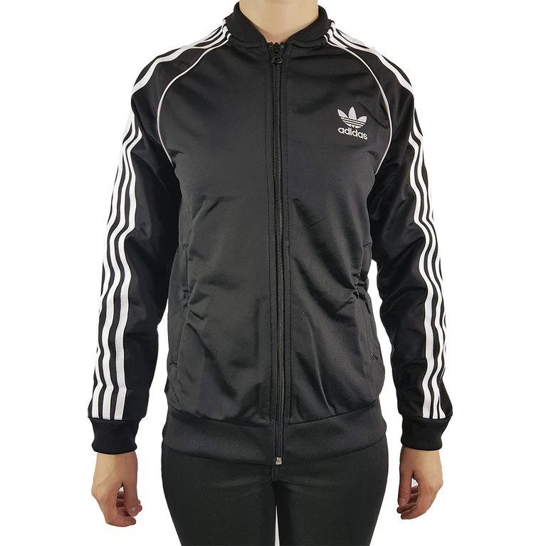Jaqueta Adidas SST Top Preta Juvenil - galleryrock 907fe75c41678