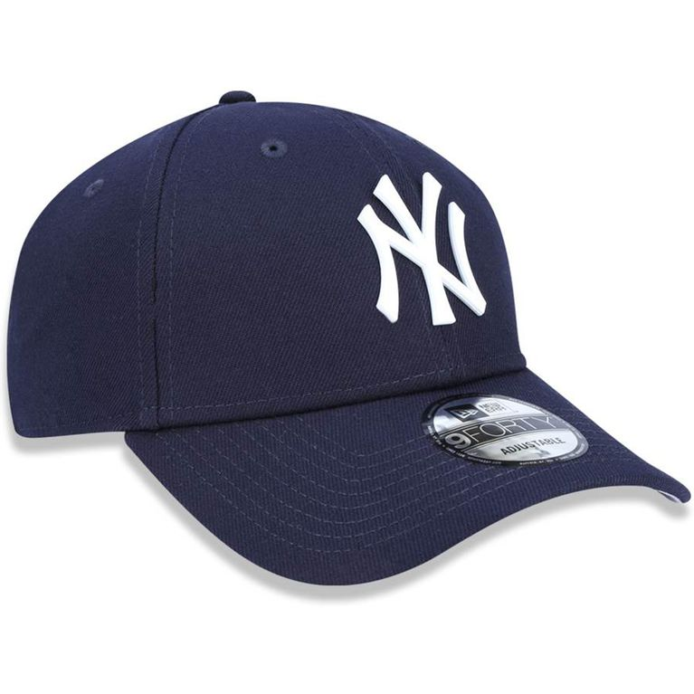 Boné New Era 940 Core Metal White New York Yankees Marinho Snapback ... cf9dd85f87b
