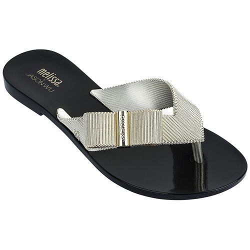 MELISSA-CHINELO-GIRL-CHROME-JASON-WU-PRETO-OURO-GL340