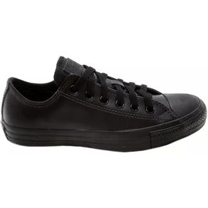 TENIS-ALL-STAR-MONOCHROME-LEATHER-OX-PRETO-PRETO-L92