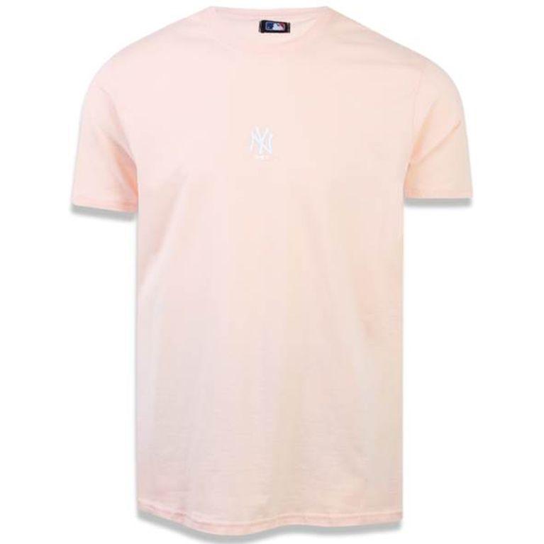 Camiseta New Era Candy Color New York Yankees Laranja - galleryrock de904fd4641
