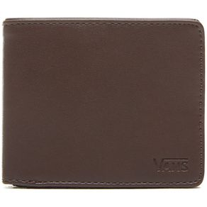 Carteira-Vans-Drop-Bifold-Wallet-Dark-Brown