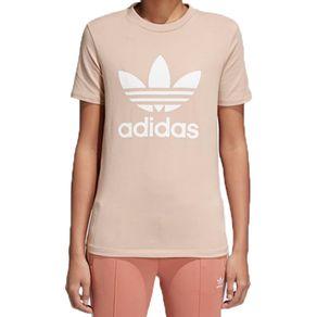 Camiseta-Adidas-Trefoil-Bege