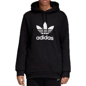 Blusa-Adidas-Trefoil-Capuz-Warm-Up-Preta