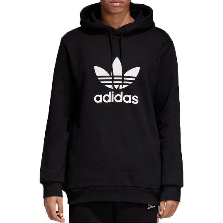 34de3deb7d7 Blusa Adidas Trefoil Capuz Warm Up Preta - galleryrock