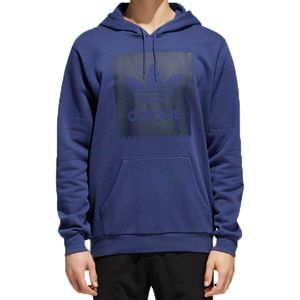 Blusa-Adidas-Trefoil-Capuz-Solid-Blackbird-Azul