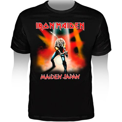 Camiseta-Iron-Maiden-Maiden-In-J