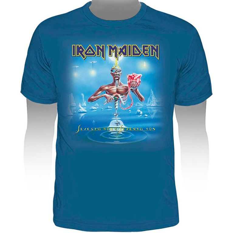 Camiseta Iron Maiden Seventh Son of a Seventh Son - Gallery Rock ... d12267a9ac9