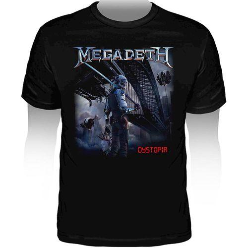 Camiseta-Megadeth-Dystopia
