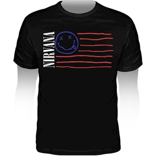 Camiseta-Nirvana-Flag