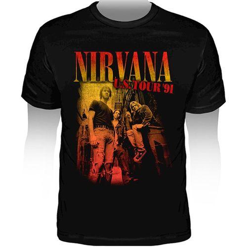 Camiseta-Nirvana-USA-Tour-91