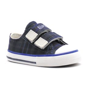 Tenis-All-Star-Specialty-Plaid-V2-Preto-Infantil-L34
