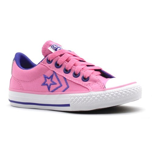 Tenis-All-Star-Player-Ox-Rosa-Roxo-Infantil-Juvenil-L46A