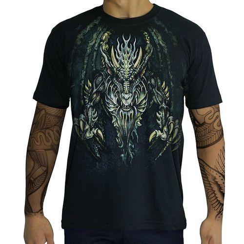 Camiseta-Blue-Dragon-Stamp