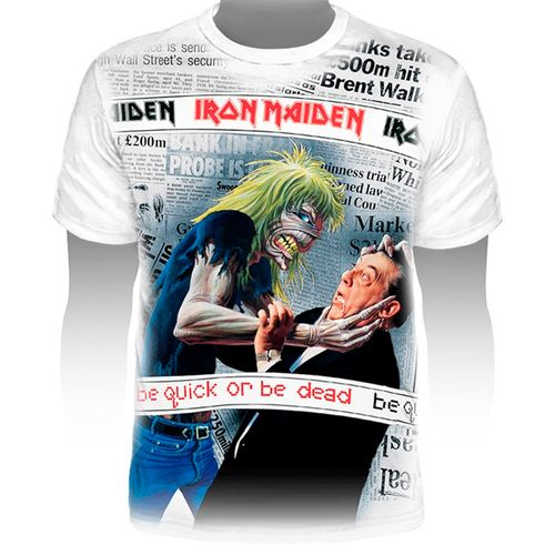 Camiseta-Premium-Iron-Maiden-Be-Quick-Or-Be-Dead