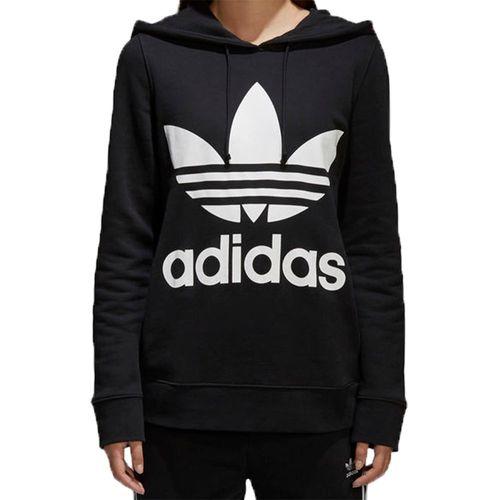 Blusa-Adidas-Capuz-Trefoil-Hoodie-Preta