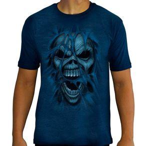 Camiseta-Tattoo-Especial-Blue-Skull-