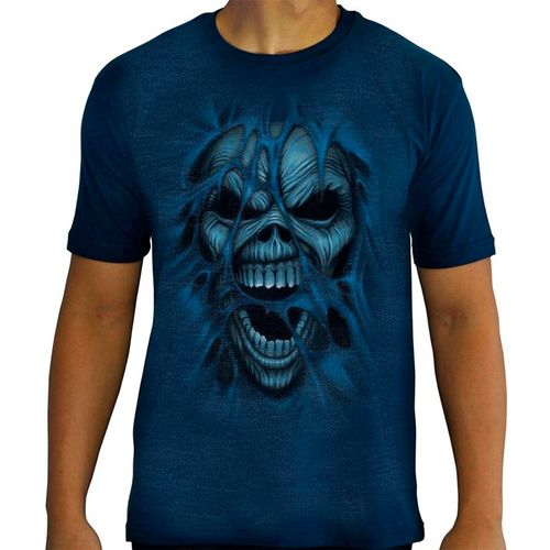 Camiseta-Tattoo-Especial-Blue-Skull-