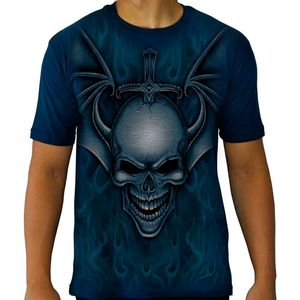 Camiseta-Tattoo-Especial-Bat-Skull