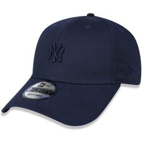 Bone-New-Era-940-Mini-Logo-New-York-Yankees-Marinho