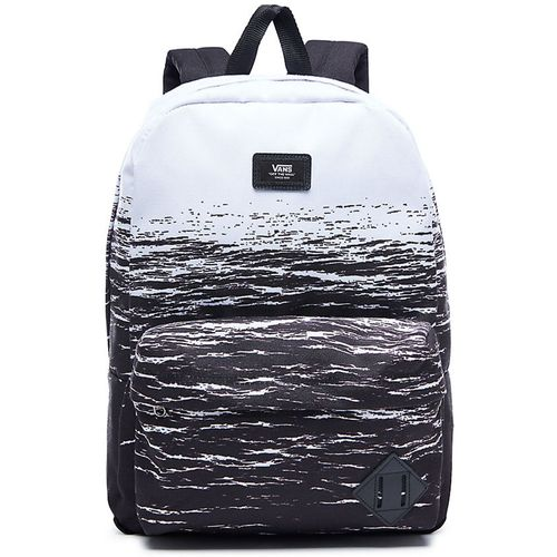 Mochila-Vans-Old-Skool-II-White-Dark-Wate