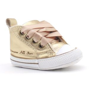 Tenis-Infantil-Bebe-My-First-All-Star-Dourado