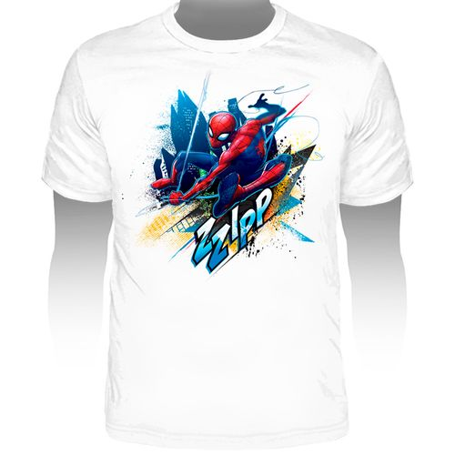 Camiseta-Marvel-Spider-Man-Zzipp