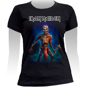 Baby-Look-Iron-Maiden-Ed-With-Axe-The-Book-Of-Souls-