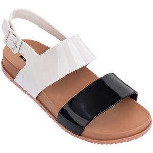 Melissa-Cosmic-Sandal-III-Preto-Branco-Marrom