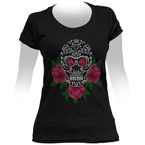 Camiseta-Feminina-Red-Roses