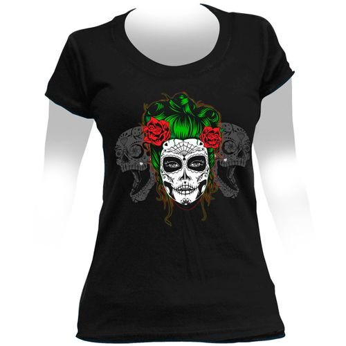 Camiseta-Feminina-Dead-Girl-