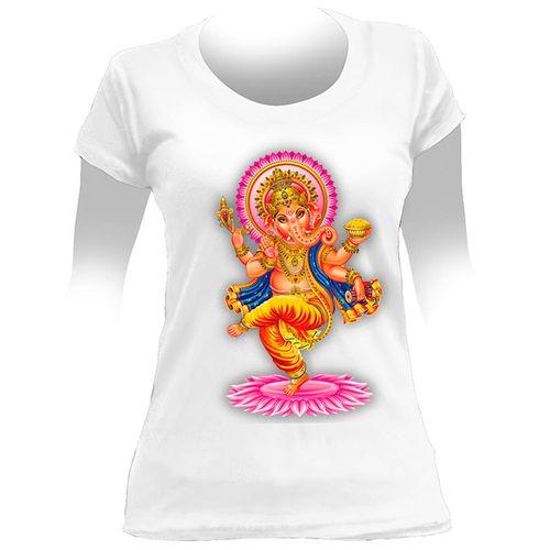 Camiseta-Feminina-Ganesha-