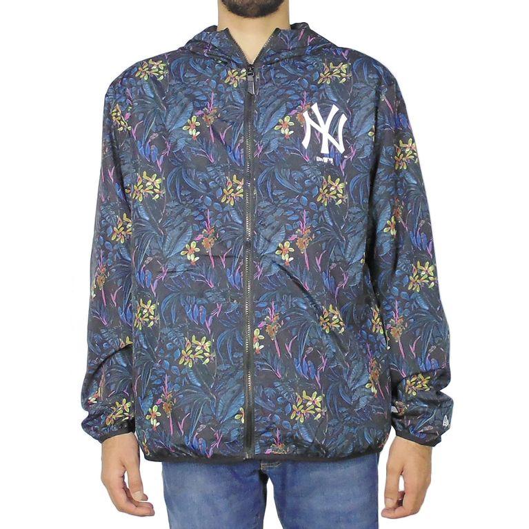 50269f457d5 Jaqueta Corta Vento New Era Windbreak Dark Floral New York Yankees ...