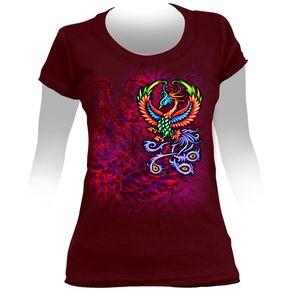 Camiseta-Feminina-Paradise-Birds
