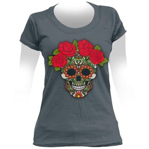 Camiseta-Feminina-Wreath-Of-Roses