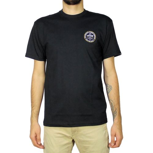 Camiseta-Vans-Established-66-Black